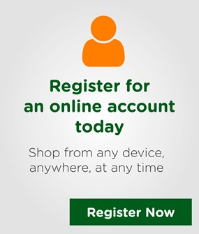 Register for an Online Account Today