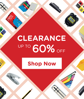 Clearance on all educational supplies