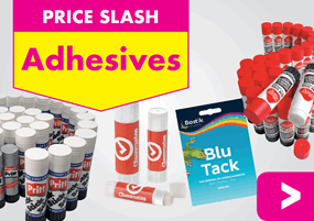 Prices Slashed on Adhesives