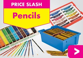 Prices Slashed on Pencils