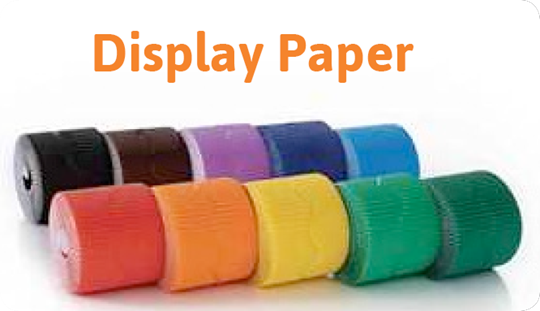 Stockroom Fillers: Display Paper
