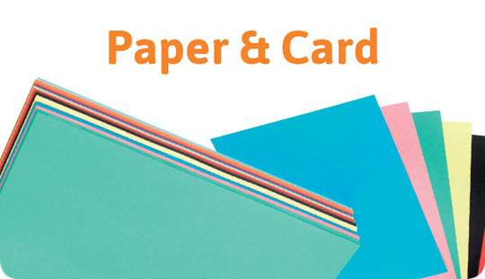 Stockroom Fillers: Paper & Card