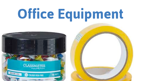 Stockroom Fillers: Office Equipment