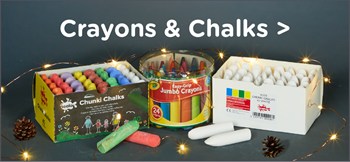 Christmas Crayons and Chalks